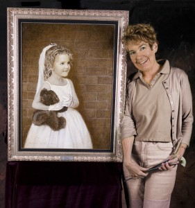 Jessica Rockwell's portraits are inspired cousin Norman Rockwell