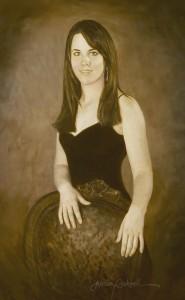 Teen Oil Portraits: Grace
