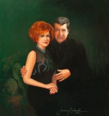 Oil Portraits of Husband and Wife Show Their Love