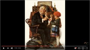 Portrait Painter mentions this painting from Karola's video
